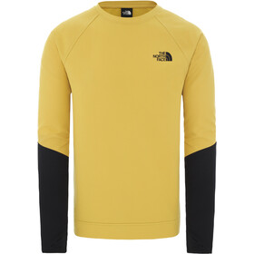The North Face Tekno Ridge Rundhals-Pullover Herren bamboo yellow/tnf black